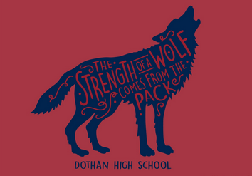 DHS Wolf T-shirt  $15