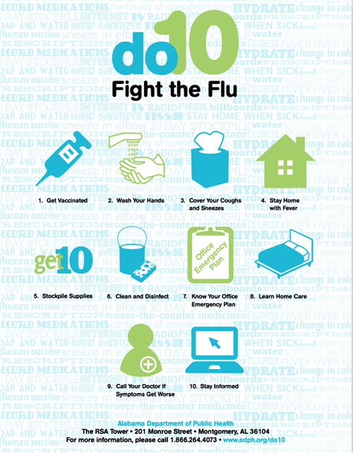 10 things to fight the flu