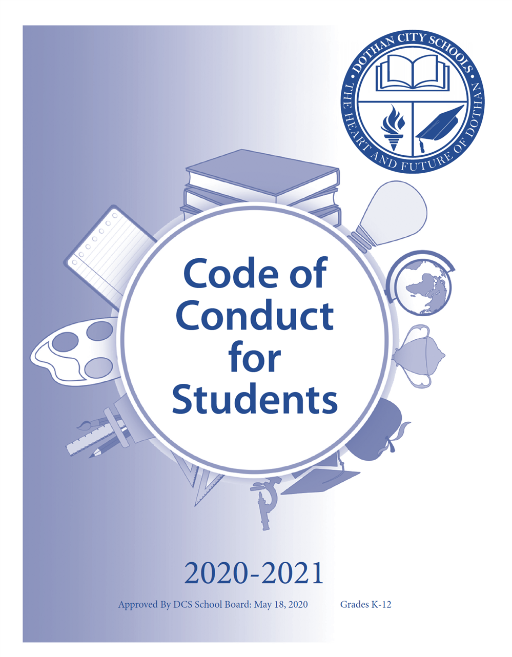 DCS Code of Conduct Handbook Cover Page