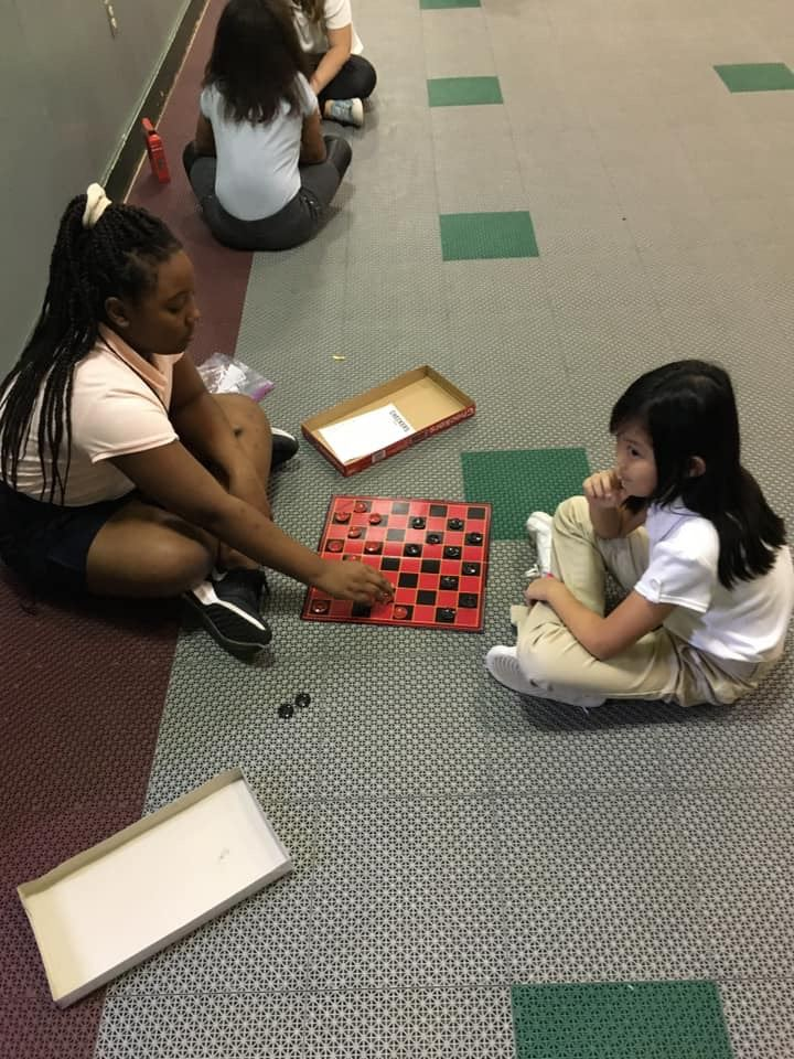 Third Grade playing board games