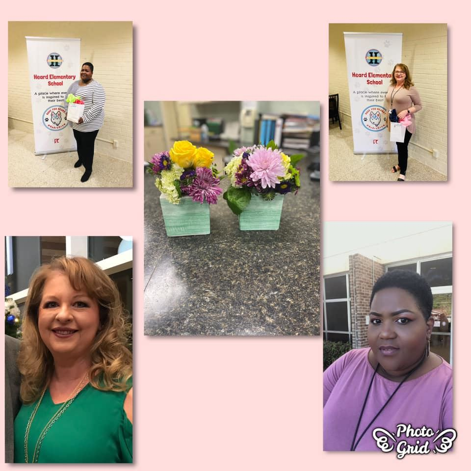 Happy Administrative Professional's Day to Mrs. Betty and Mrs. Shonda! We LOVE You!
