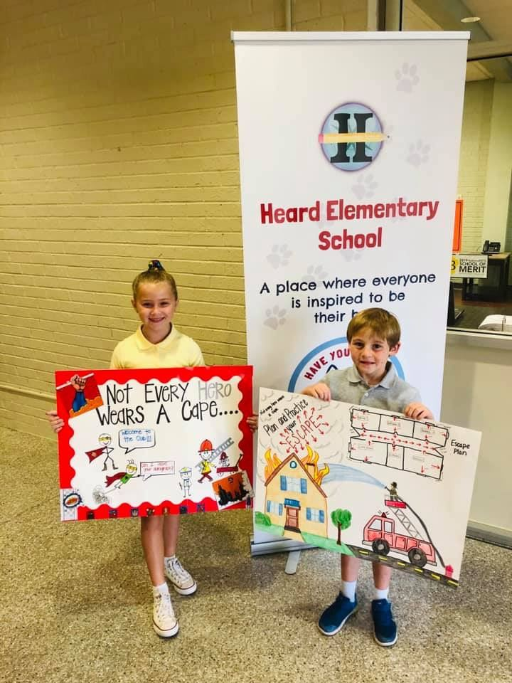 Fire Prevention Poster Contest Winners
