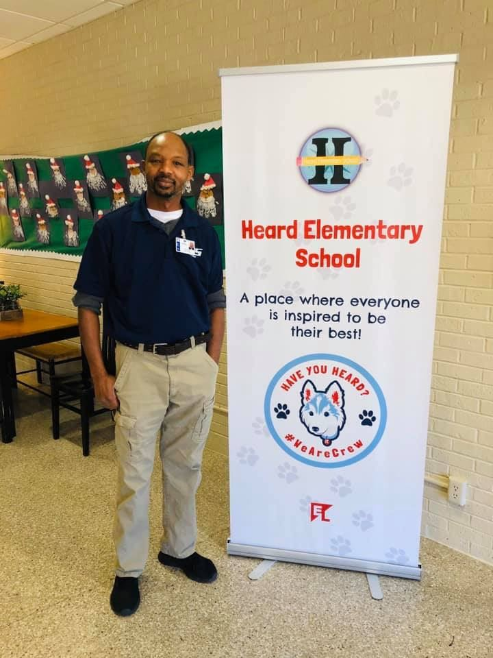 Welcome Mr. Henry Barber, our new head custodian!