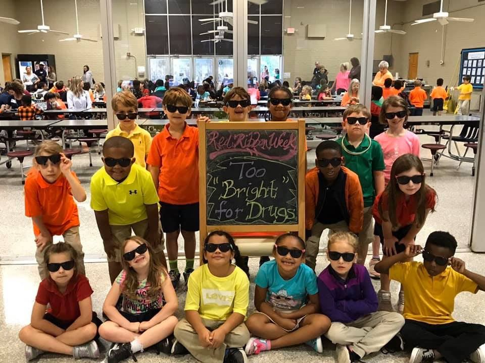 "Mrs. Hoffman's Class ""Too Bright For Drugs"""