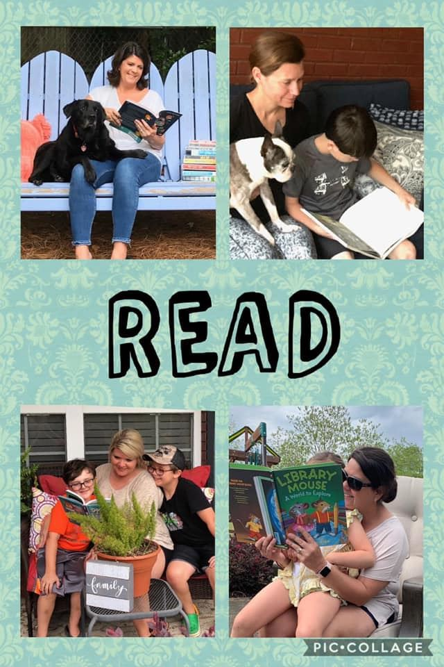 READ, READ... Mrs. Tucker misses you and wants to remind our CREW to READ Daily!!! Books take us places!!!