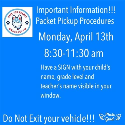 packet pickup procedures
