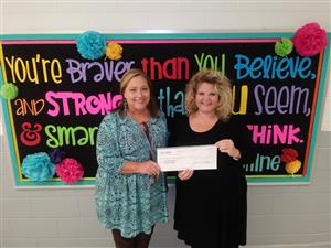 James Daniels Scholarship Awarded to Kelly Springs Teacher