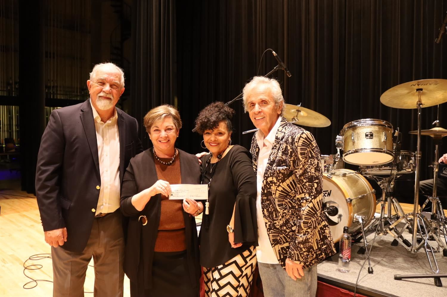 DCS Wiregrass Blues Society Check presentation