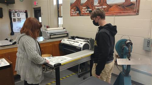 Dothan Tech Center Students Complete Large Poster Project for Dothan City  Schools