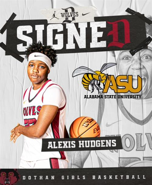 Alexis Hudgens Signed to Alabama State University