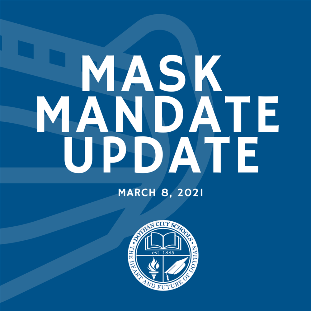Dothan City Schools Continues Mask Mandate For All Employees/ Optional for Students