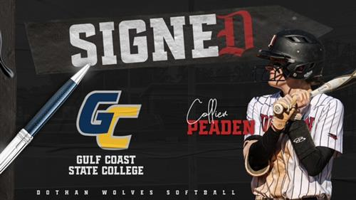 Signed Collier Gulf Coast State College